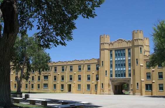 new mexico military institute (note:  track field and indoor swimming pool / racquetball courts have public hours)