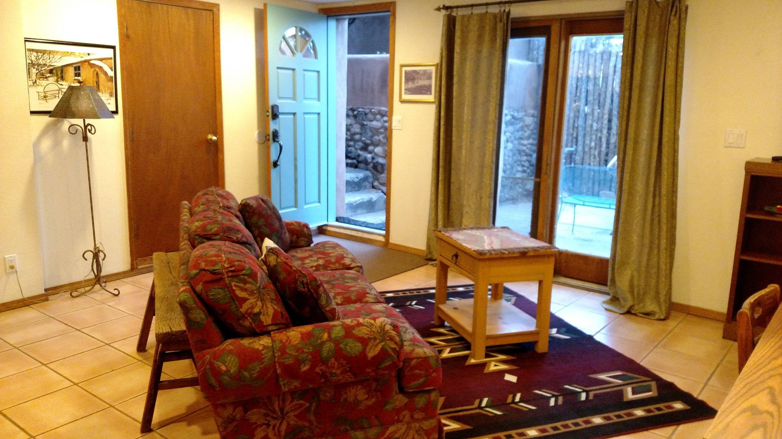 Zia house garden cottage