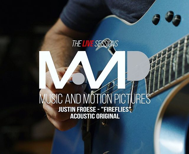"""It's here!  Part 2 of my recent collaboration with @musicandmotionpictures Head on over to their YouTube channel and check out my latest video with Director Aaron Martin (link in bio). This time we did an acoustic version my song """"Fireflies"""" while live-looping with my favorite @taylorguitars T5.  Enjoy!"""