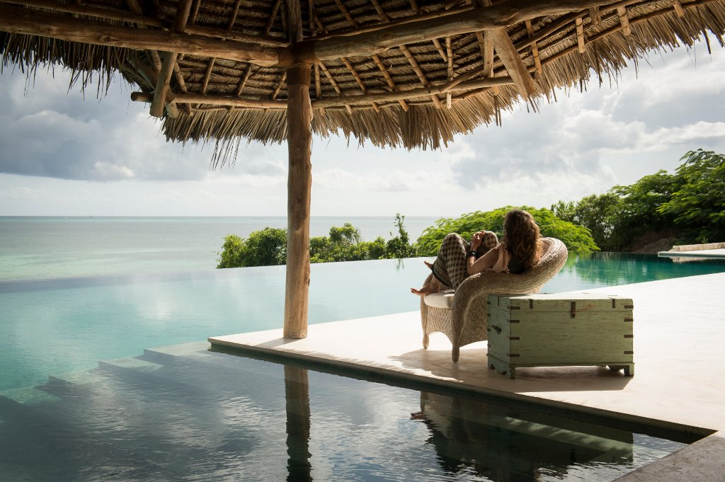 Qambani Luxury Resort   A fusion of ancient Swahili crafts - perfected in the palaces of the sultans along the East African shores - and modern coastal design, it gives shady sanctuary, while turning the inside out, so every space takes great gulps of the sea and the balmy tropical air.