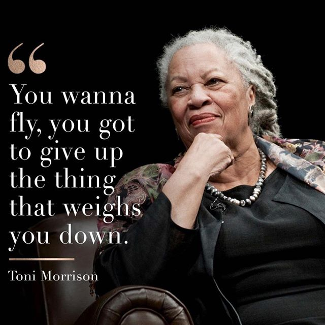 "Beloved author and Nobel Prize winner #ToniMorrison passed away at age 88. ""What was driving me to write was the silence — so many stories untold and unexamined. #acountability #executive #trust"