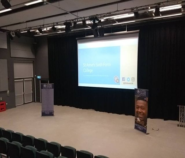 Massive thanks to @OasisLordshill for giving us the chance to speak to your year 11s about our outstanding sixth form. Don't forget out Open Evening is this Wednesday!
