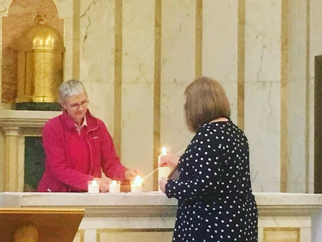 Our executive headteacher was at a joint LSU day today. Miss Bourne lights a candle alongside Headteachers and representatives from six LSU schools from around England and Ireland, recommitting to our shared vision statement