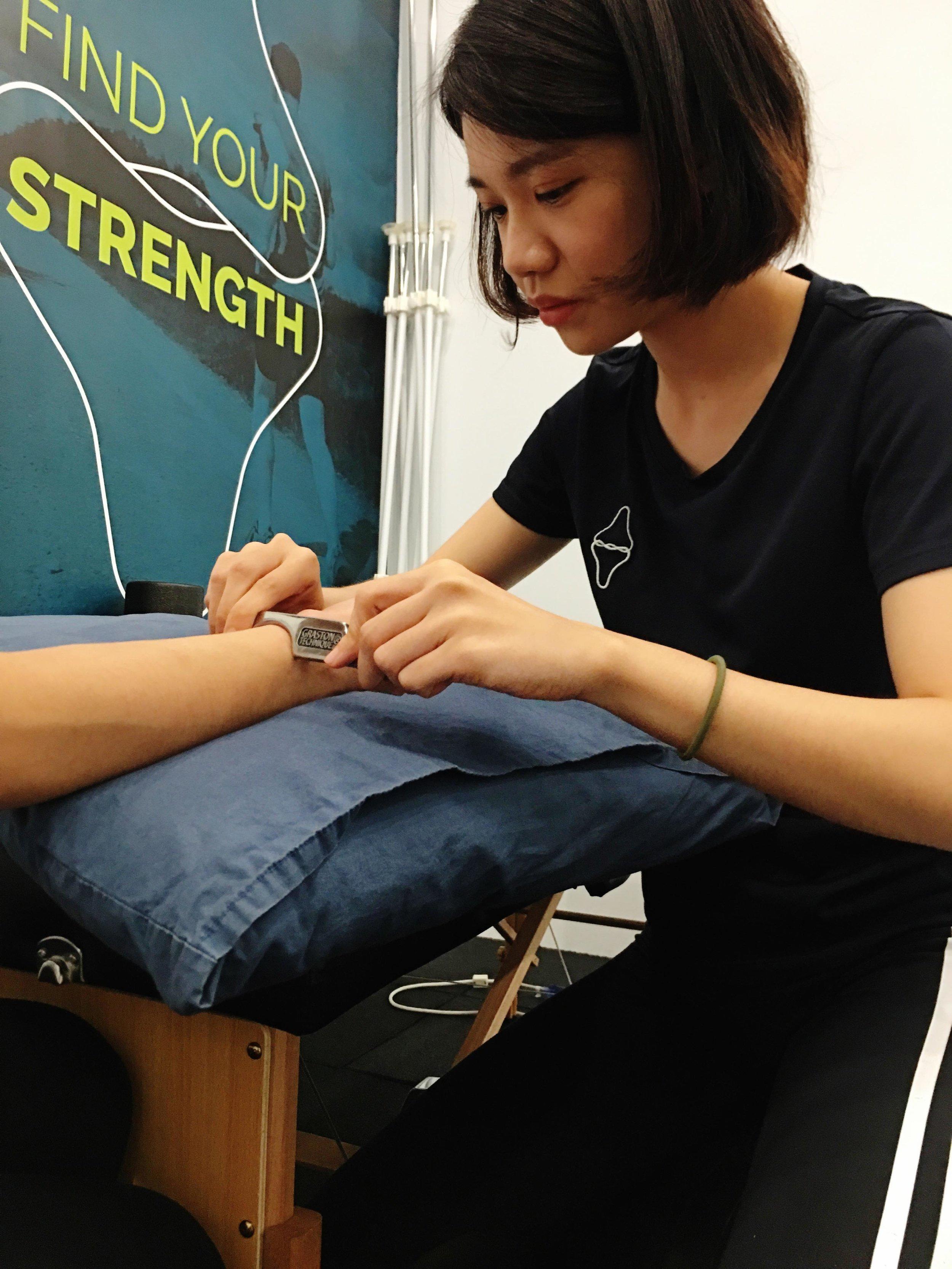 Graston Technique 放鬆上肢筋膜