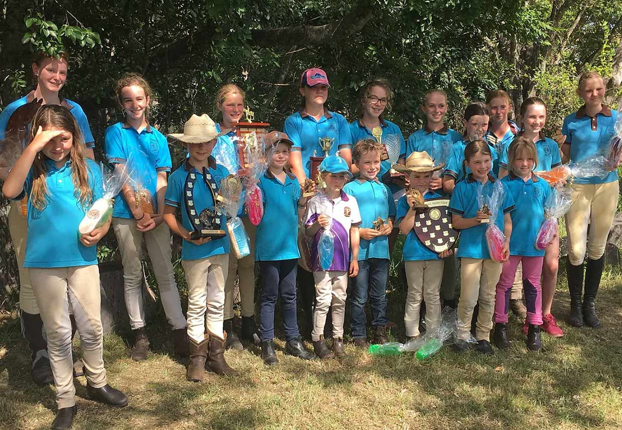 """Our Club - Moggill Pony Club is a thriving """"family club"""" that offers young riders the very best opportunity to develop their riding skills, as well as lasting friendships."""