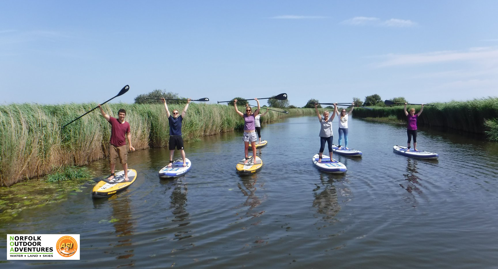 BEGINNERS INTRODUCTION TO STAND UP PADDLE - (SUP) -