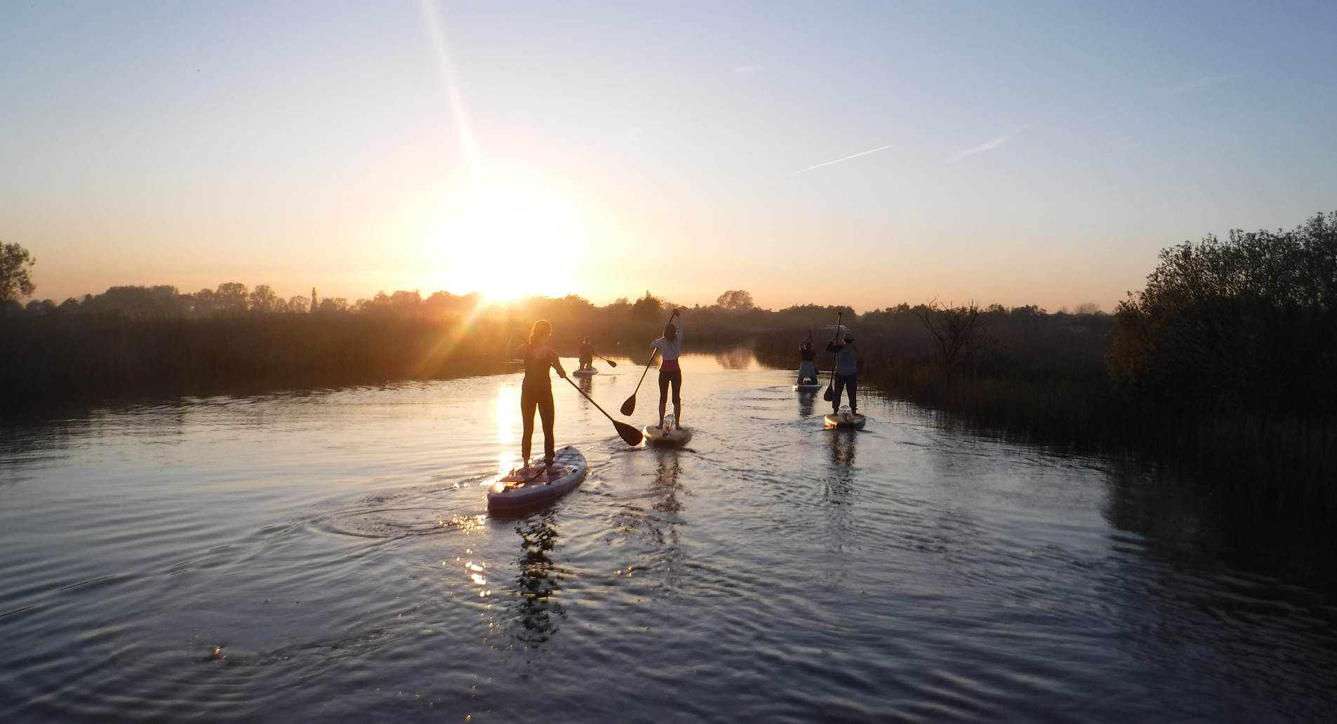 PADDLE & SUNSET SUP EXPEREINCE -
