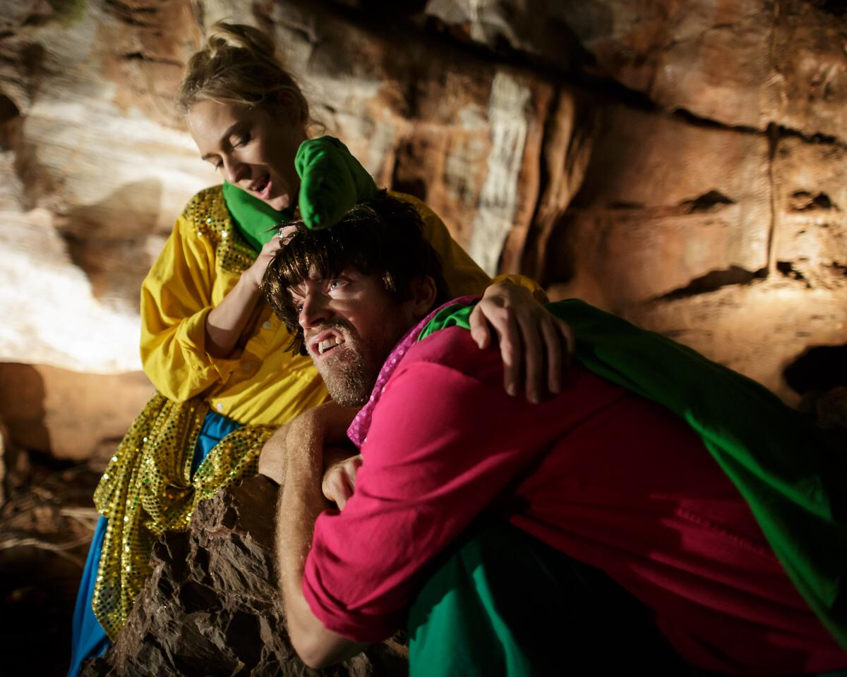 Midsummer Night's Dream - 2018, Butterfly Theatre, Kent's Cavern, TorquayIn this four person ensemble production Octavia played Helena, Titania, Snout, Egeus and Peaseblossom.