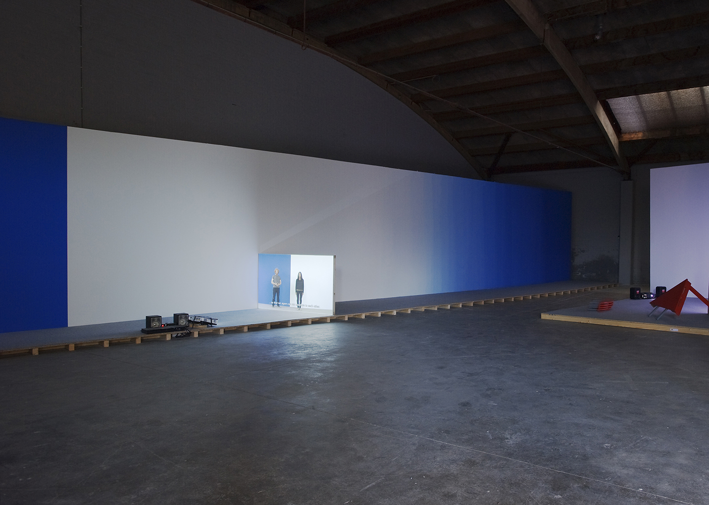 Installation view at DeServicegarage (2012) | Photo: Cassander Eeftinck Schattenkerk