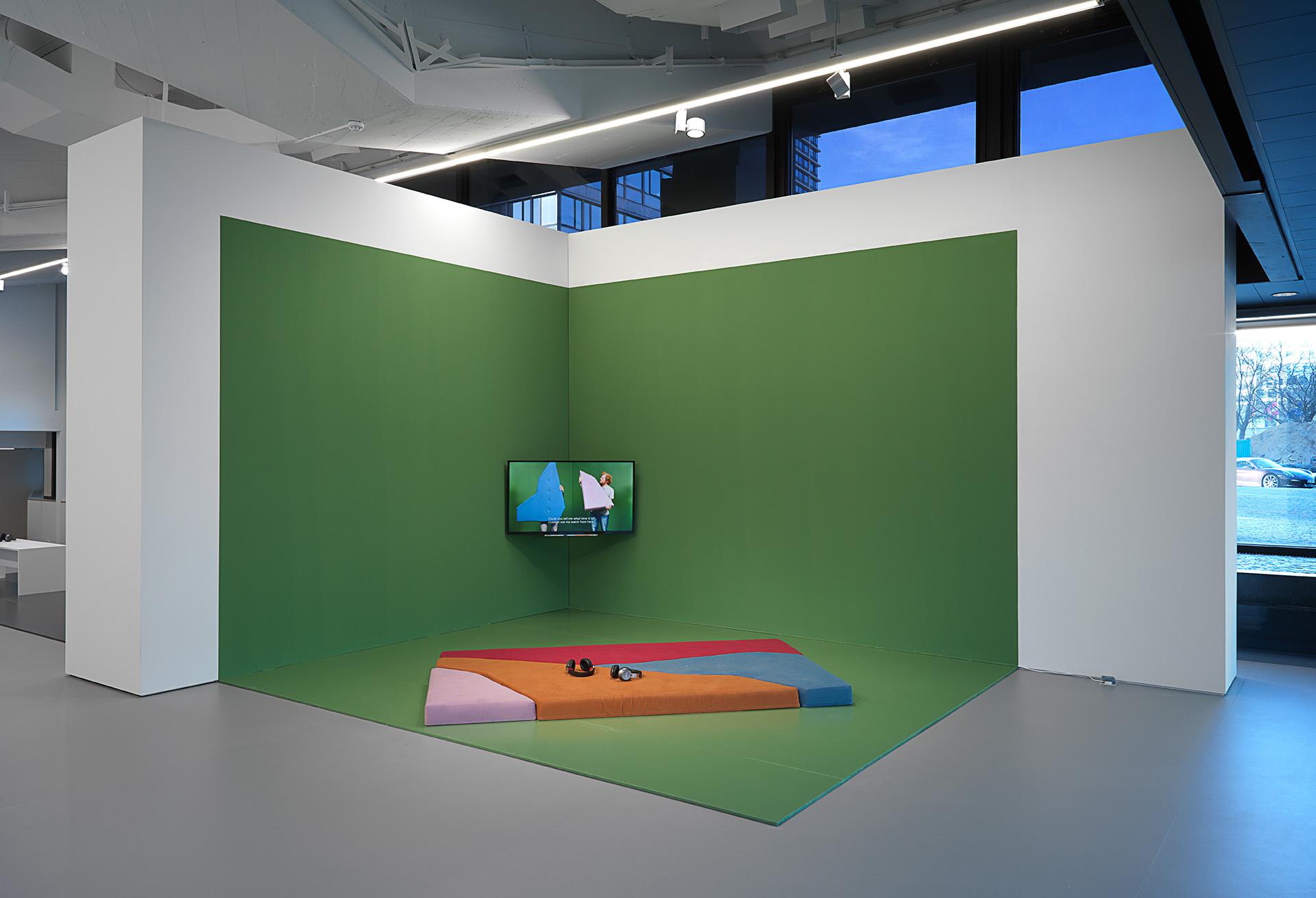 Installation view at Efremidis Gallery, Berlin