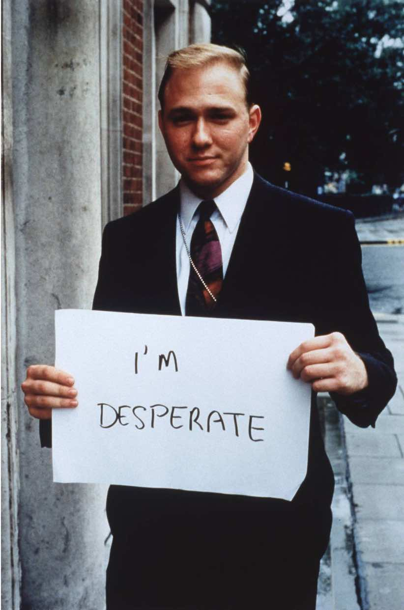 I'm Desperate - Gillian Wearing
