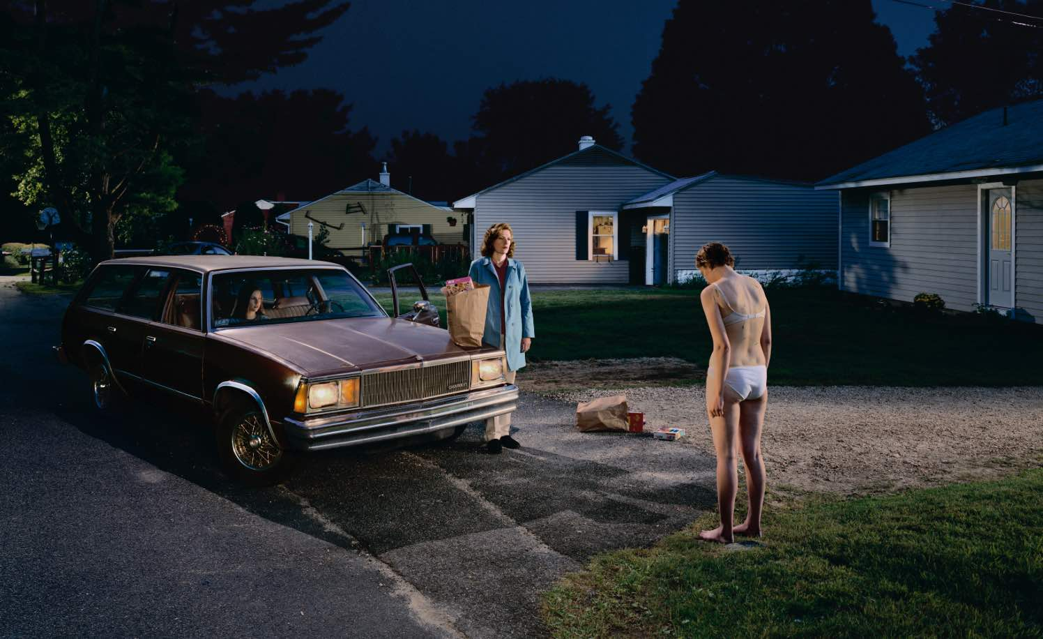 The work of Gregory Crewdson, from    Twilight