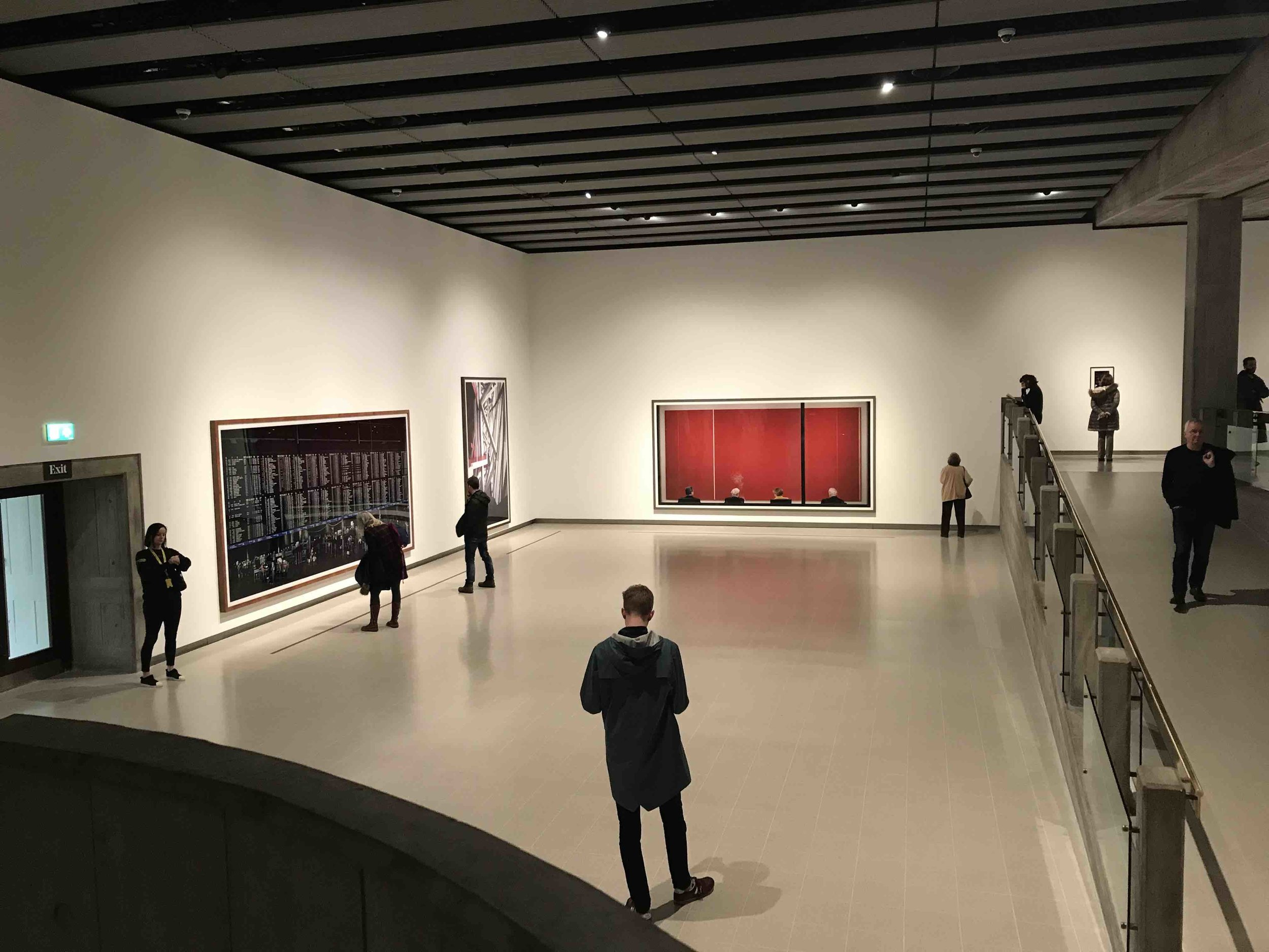 The Gursky exhibition at Hayward Gallery