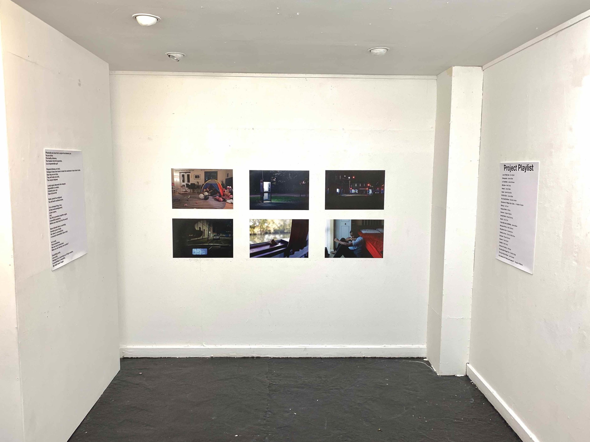 6 image grid on show at the FMP exhibition
