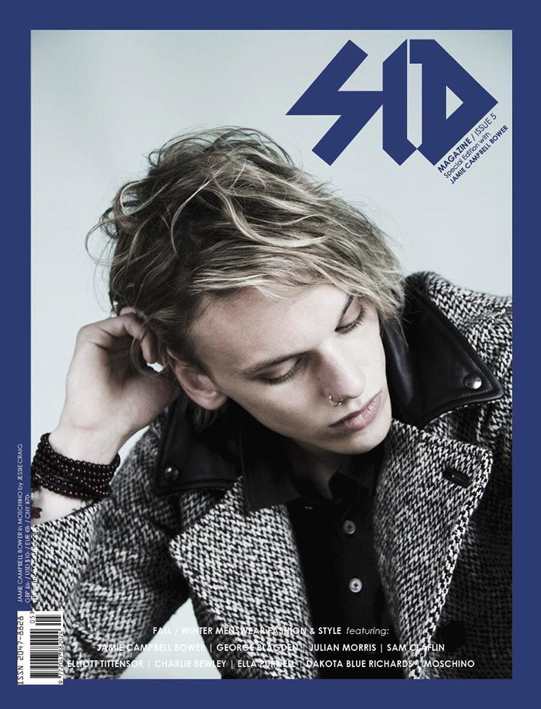 SID #5 Special Edition - Jamie Campbell Bower in Moschino
