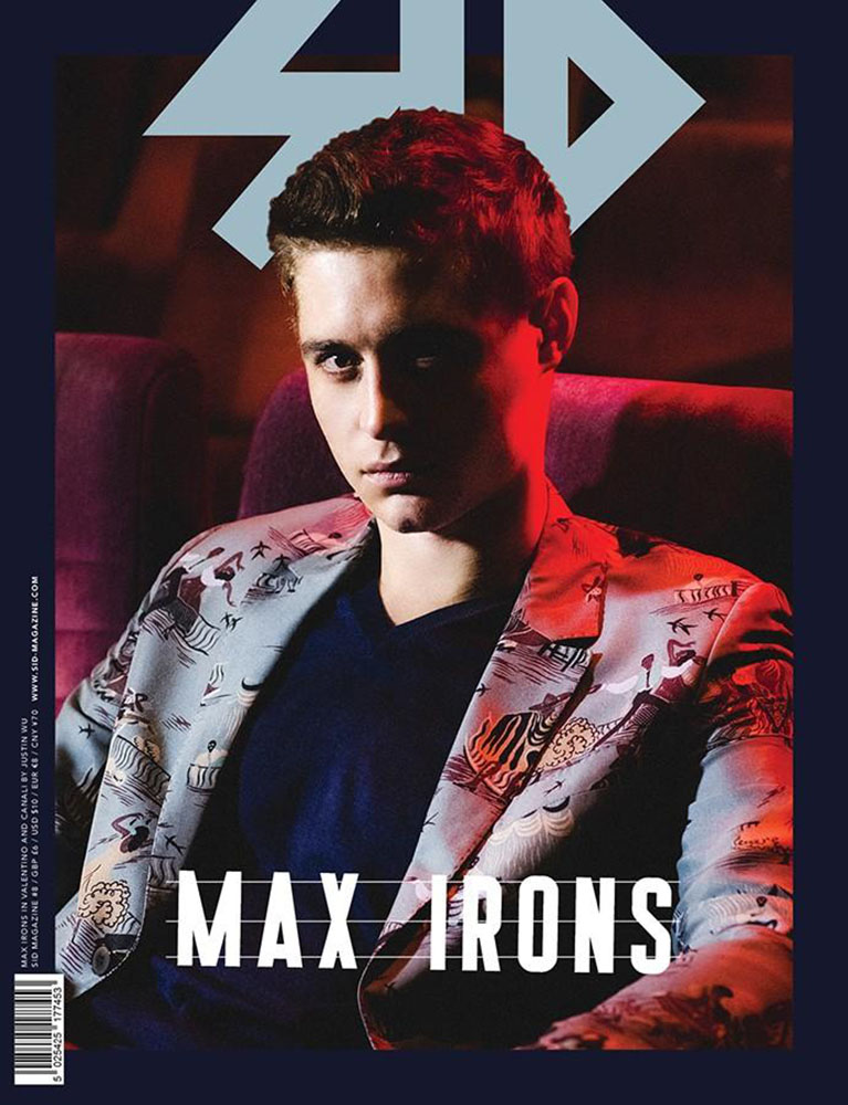 SID #8 Special Edition - Max Irons in Valentino