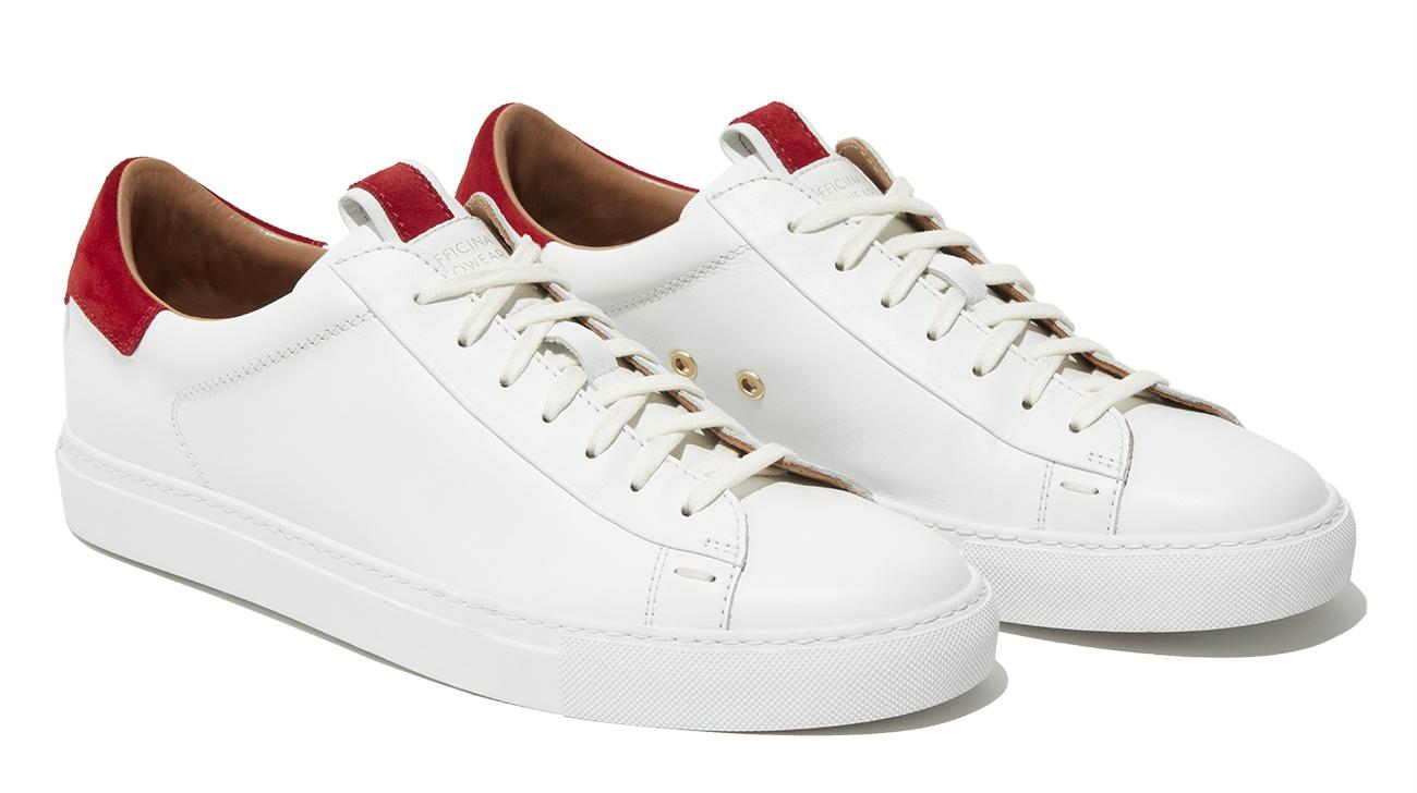 'Officina' Leather Sneakers by SLOWEAR - £345   www.slowear.com