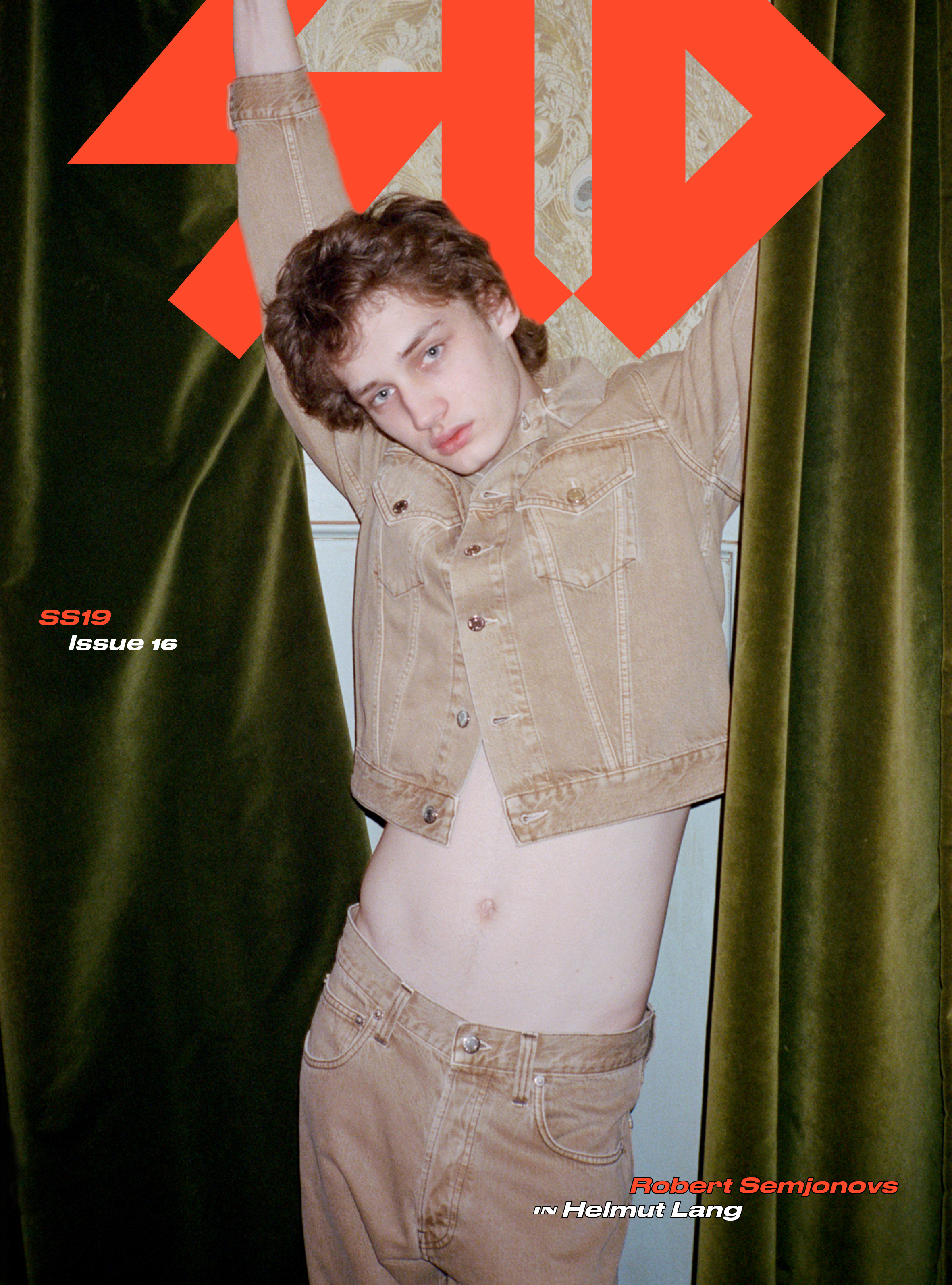 Cover: Robert in Helmut Lang