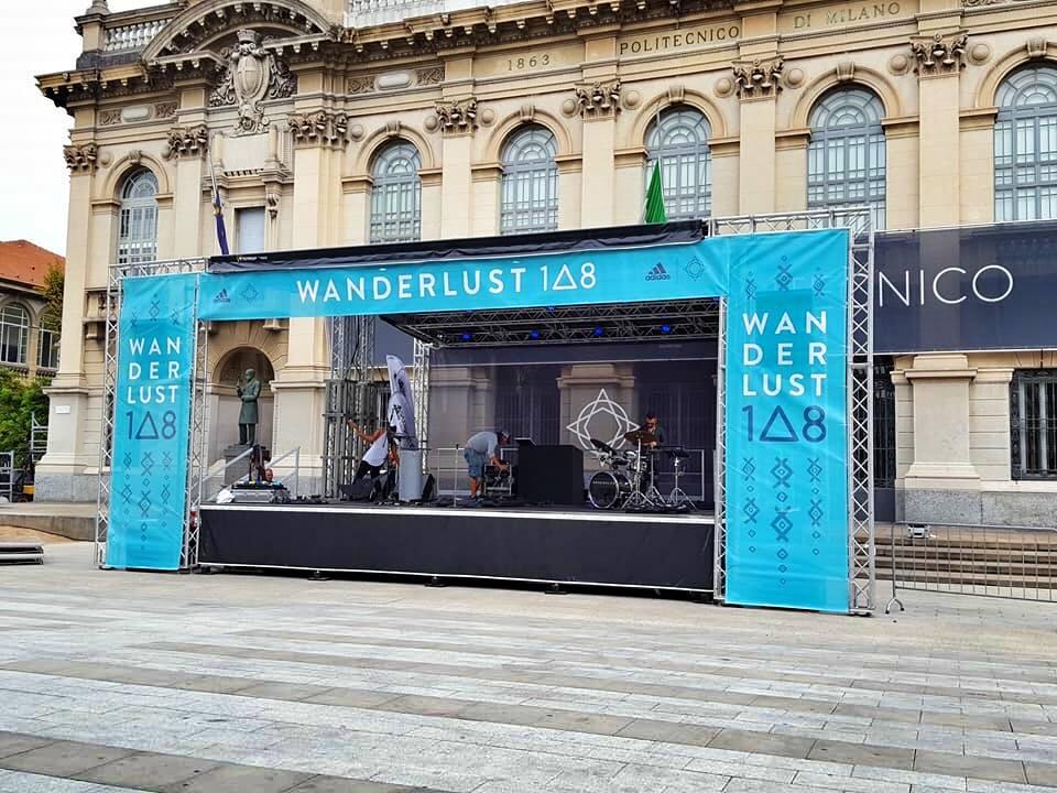 Personalizzazione Frontale Completa - In occasione dell'evento Wanderlust Adidas Milano 2017