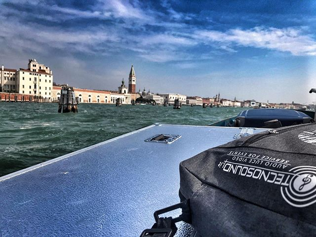 In questi giorni siamo anche a Venezia per gli eventi in occasione della Mostra del Cinema. — We are currently working also on the events related to the Venice Film Festival.  #tecnosound #venice #venezia #mostradelcinema #corporateevents #events #tecnosound #businessevents #business #corporate #celebration #eventi #lighting #lightingdesign #design #audio #dj #music #video #ledwall #padova #italia #italy #consulting #branding #marketingevents #brand #engagement #social