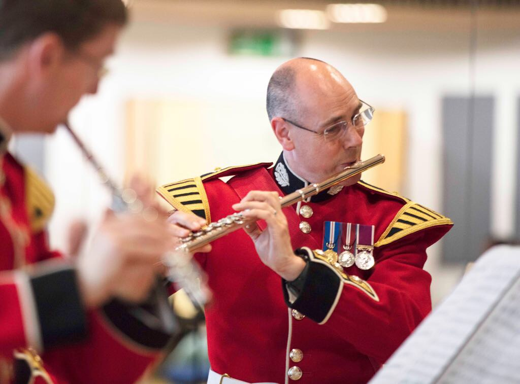 Performing at the British Flute Society London Day, June 2017