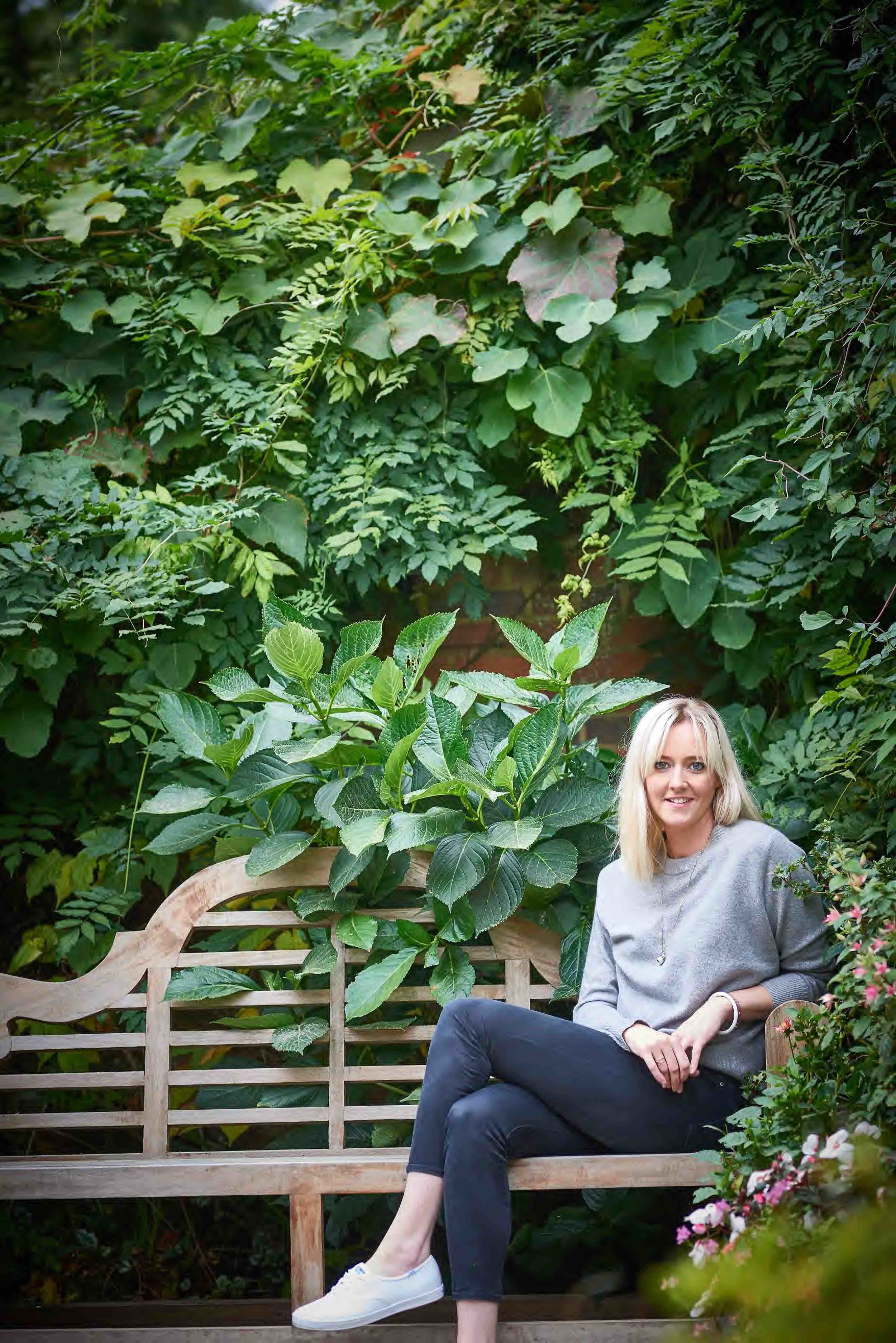 Bonnie Stowell, founder of Spring Green London