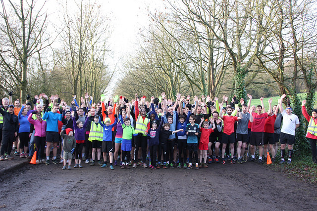 The amazing community Paul has built. Kudos to all the parkrunners to date - a 5km run done before 10am on a Saturday! The best start to the weekend!