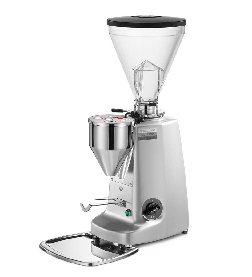 Super Jolly Electronic  Electronic grinder-doser with flat blades suitable for medium consumption.
