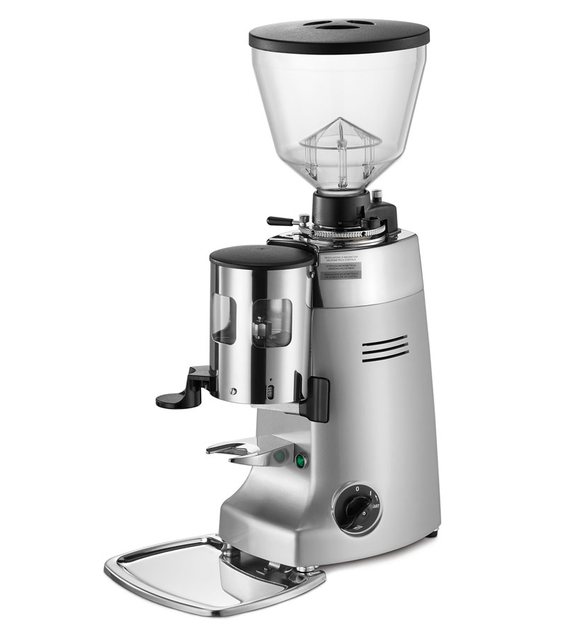 Kony   Grinder-doser with conical grinding blades and slow speed rotation suitable for medium consumption.