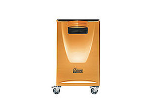 Podium Versatile Orange   Front support that is secured to the module, enabling the tray to be left on it in self-service establishments.