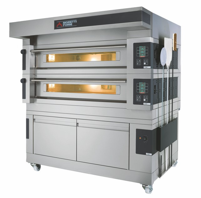 S125E   MULTIFUNCTIONAL TOP-QUALITY DECK OVEN WITH ELECTRONIC CONTROL  Available in 1, 2 or 3 Decks