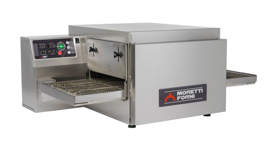 T64E   MULTIFUNCTIONAL TOP-QUALITY CONVEYOR OVEN WITH ELECTRONIC CONTROL  Available in 1, 2 or 3 Decks