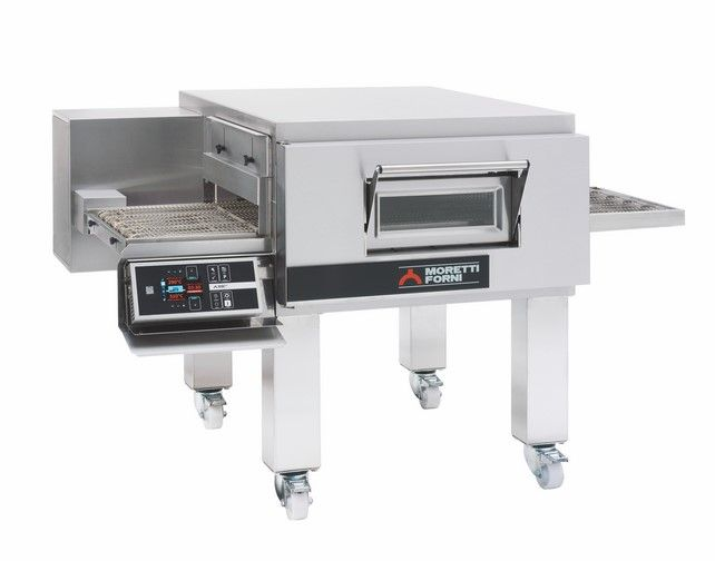 T75E   MULTIFUNCTIONAL TOP-QUALITY CONVEYOR OVEN WITH ELECTRONIC CONTROL  Available in 1, 2 or 3 Decks
