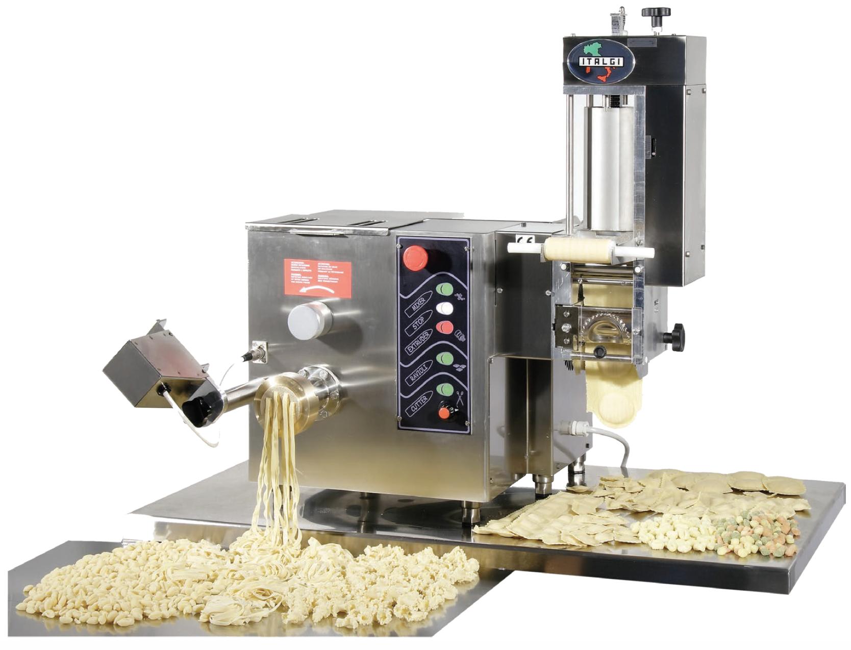 Multipla   Extruder-based combi pasta machine