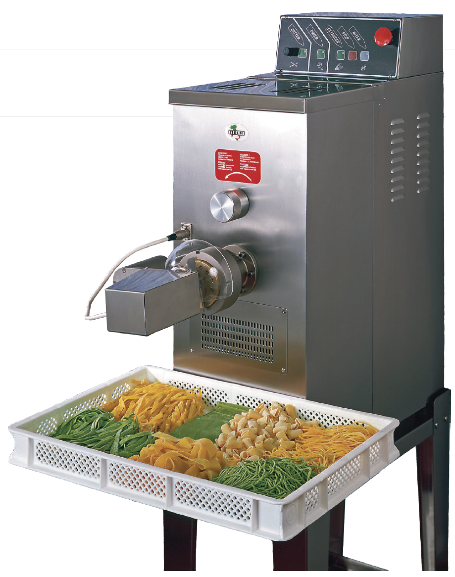 P17   Pasta machine (Pasta extruder) Hourly production: 17 Kg