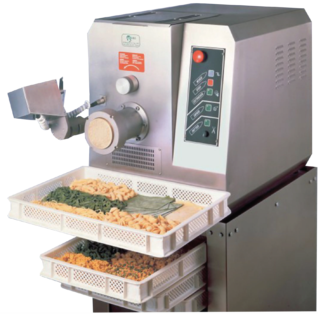 P35A   Pasta machine (Pasta extruder)  Hourly production:  30 Kg