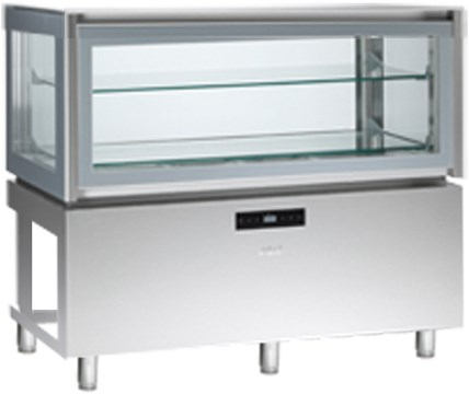 KP12Q1R    REFR.DISPLAY BUILT-IN+2/+10°C,FOR REMOTE UNIT   Temperature ranges, °C+2/+10  Dimensions (LxDxH), cm 120 x 66 x 115