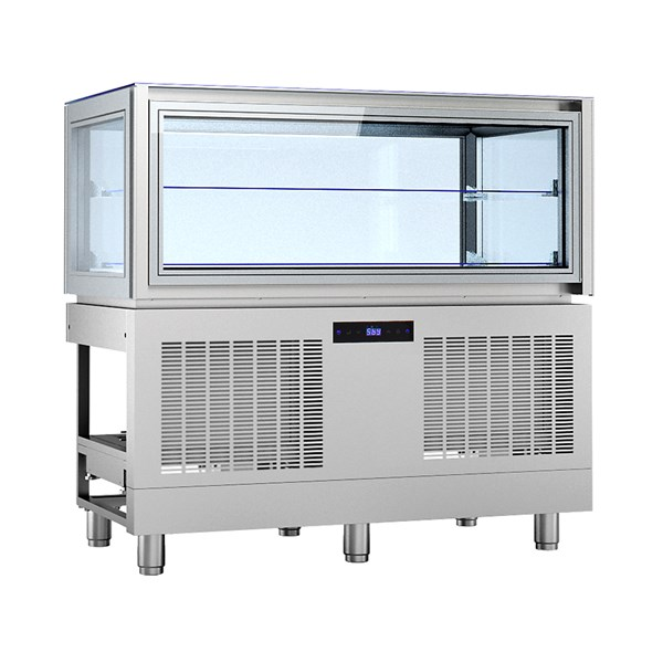 KP12Q1M    REFR.DISPLAY BUILT-IN+2/+10°C   Temperature ranges, °C+2/+10  Dimensions (LxDxH), cm 120 x 66 x 115