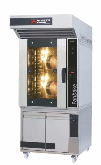 F100E - F105E   Top line bakery oven, with a particular attention to containing costs. Please explore all possible combinations.