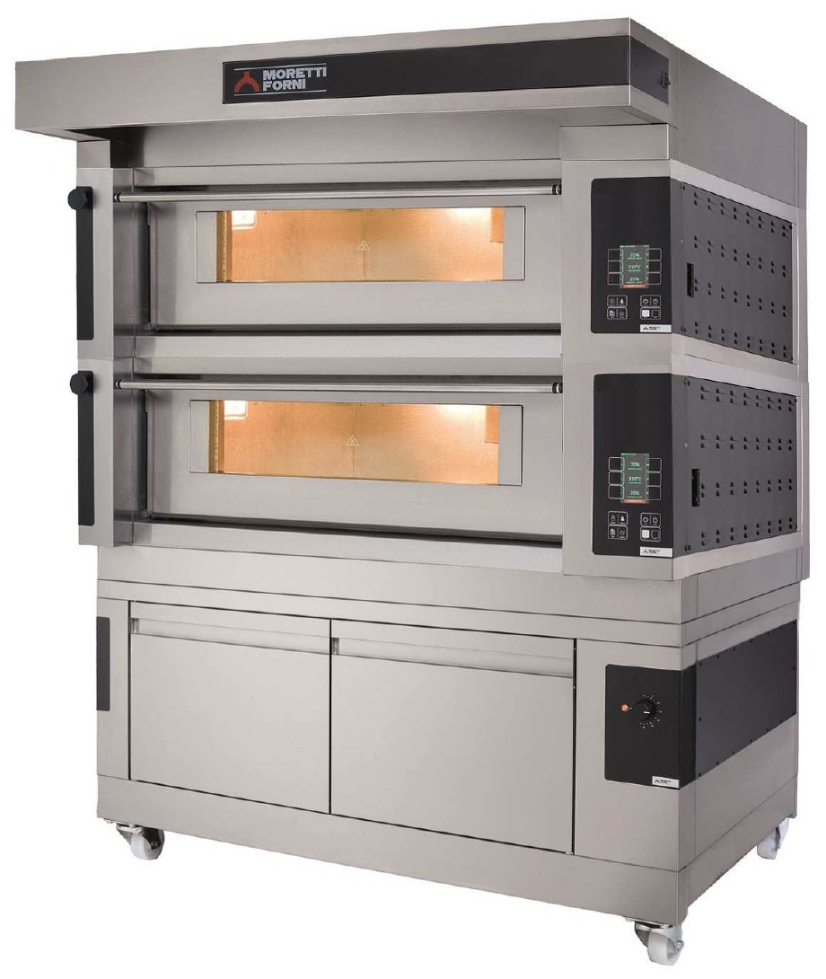 S120E   MULTIFUNCTIONAL TOP-QUALITY DECK OVEN WITH ELECTRONIC CONTROL  Available in 1, 2 or 3 Decks