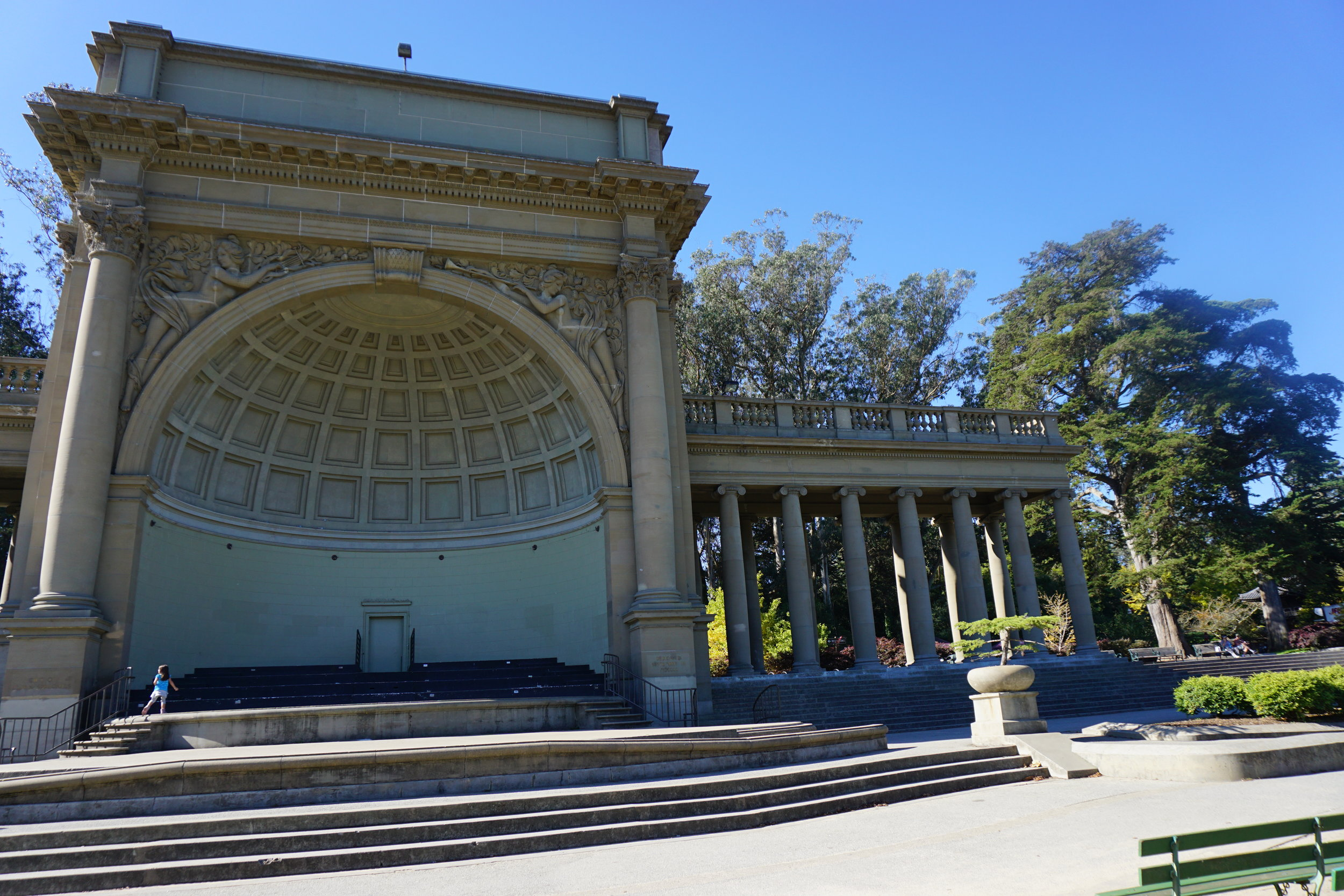 Music Concourse in Golden Gate Park