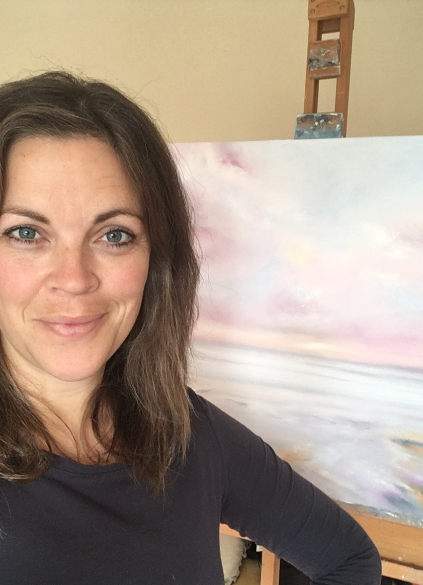 esther pritchard - Esther is a seascape artist, specialising in oils. Esther draws inspiration from the great British coastline and uses the power of light to capture both dramatic scenes and subtle reflection. Her paintings have been showcased locally in Surrey and interest in her work is building momentum.