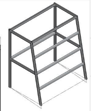Prefab Pyramid Stand Design