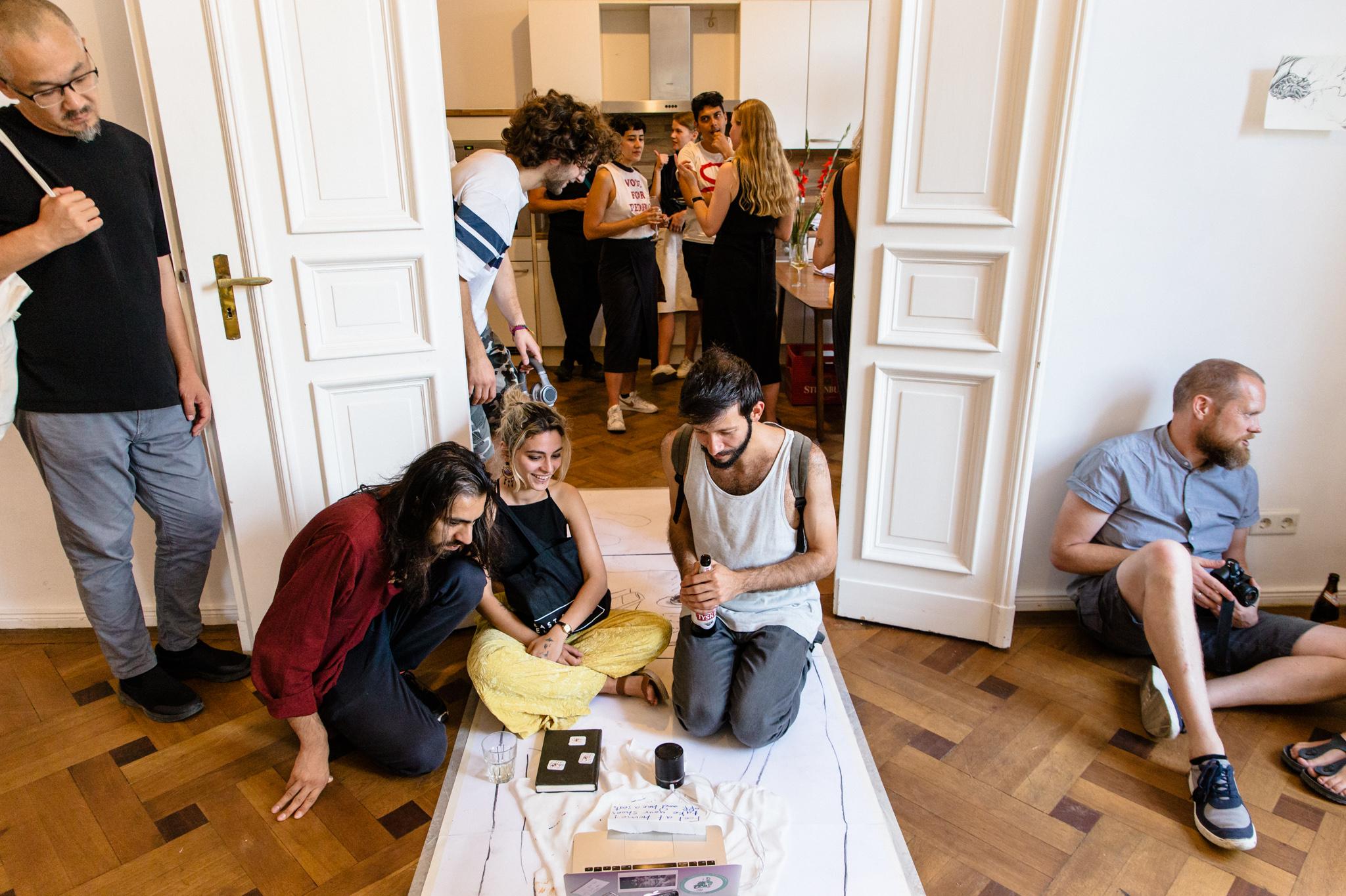Liminal Space, Yara Said, Video and installation, 2018