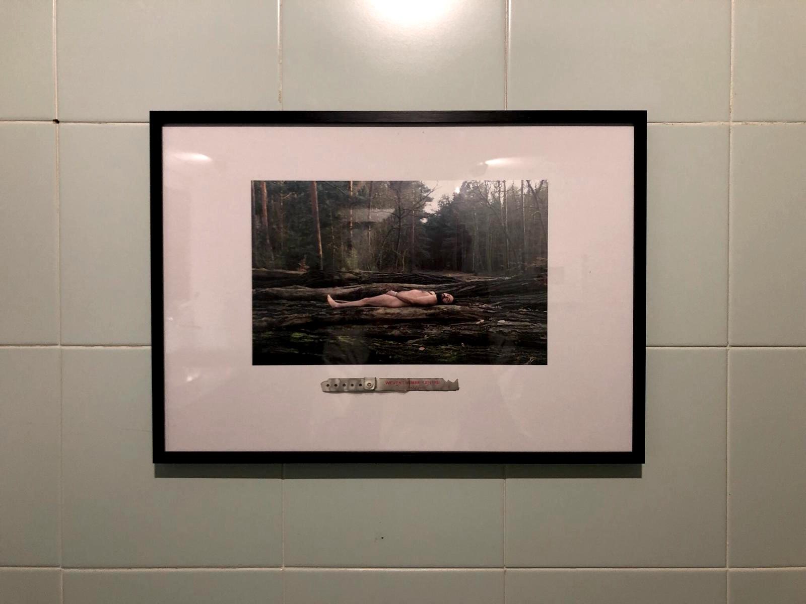 Untitled, Fadi Al-Hamwi, Photograph and identity band Giclee printed, 2018