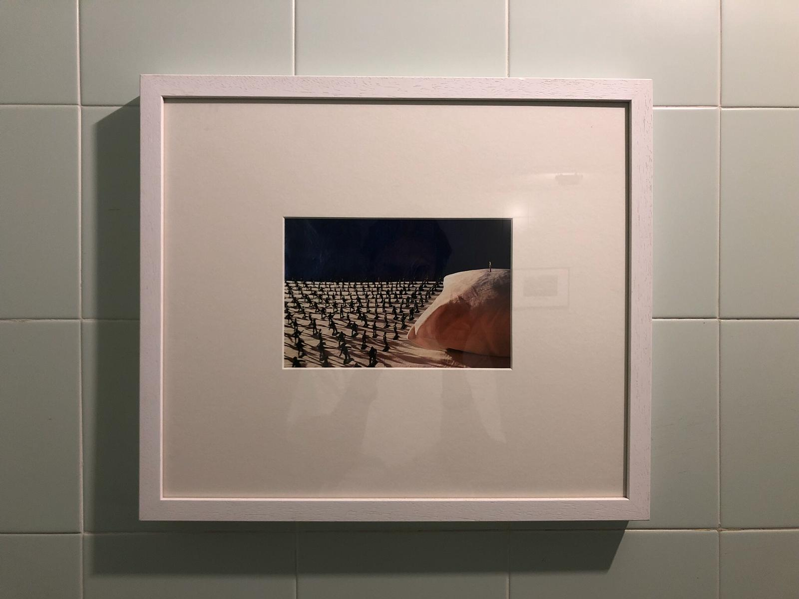 Over My Bed, Fadi Al-Hamwi, Print of the installation, 2013