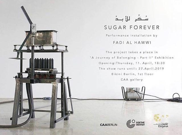 Opening tomorrow! @fadi.alhamwi