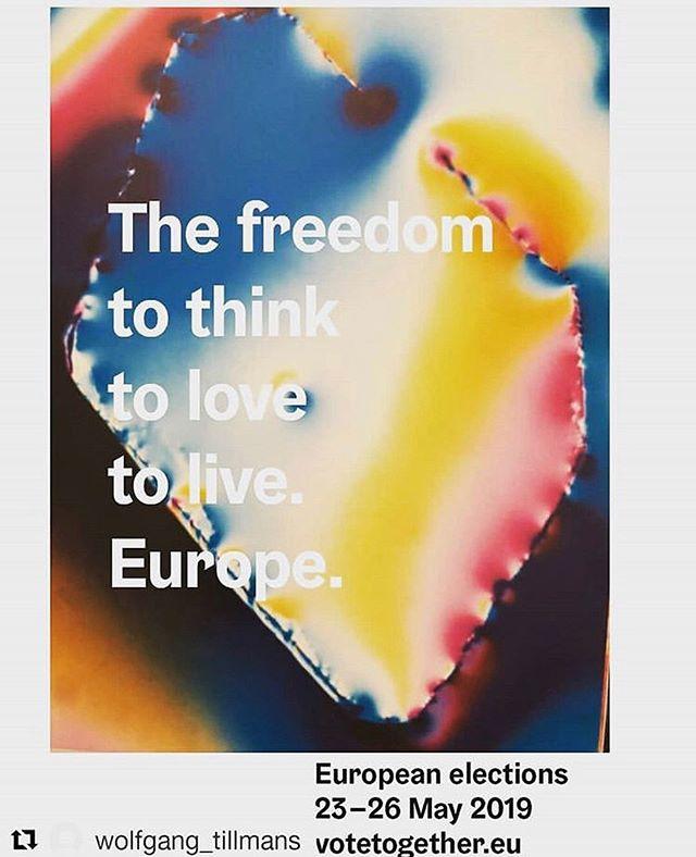 repost @wolfgang_tillmans @votetogether.eu #europe #votetogethereu
