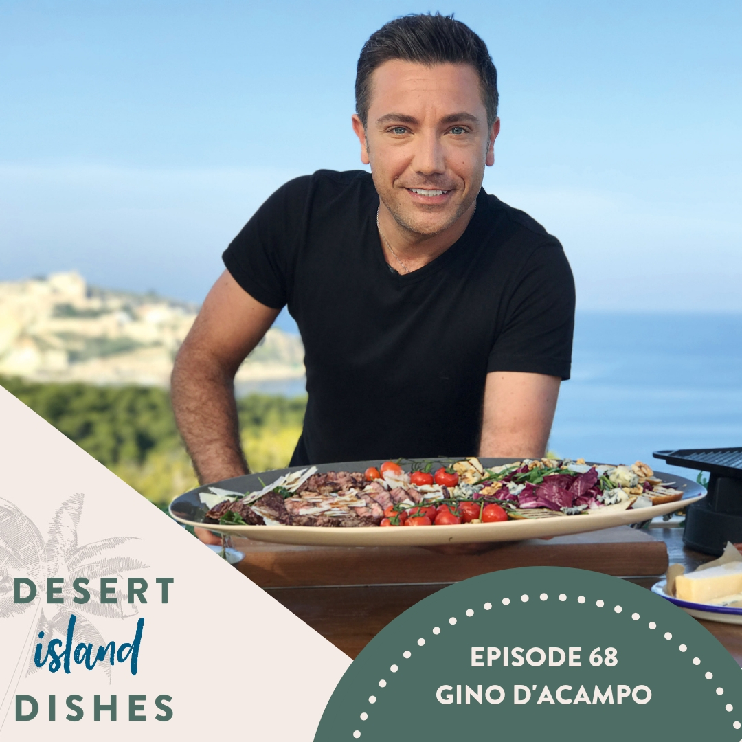 Gino D'acampo on Desert Island Dishes