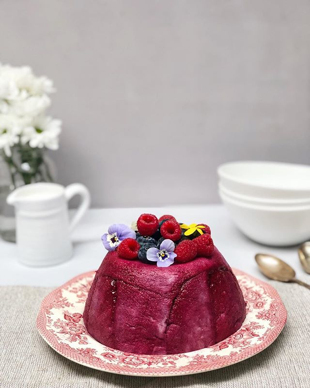 Have you ever made Summer Pudding? It's such a classic dish and so completely delicious served with lashings of cream.  It's one of those puddings that shouldn't really work but the whole is so much more extraordinary than the sum of its parts.  Showing you how to make it over in my stories 💕